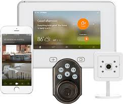 alarm system with camera